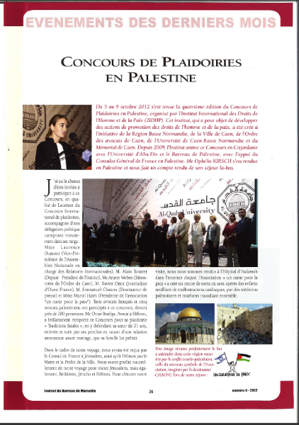Article de presse Avocat Marseille